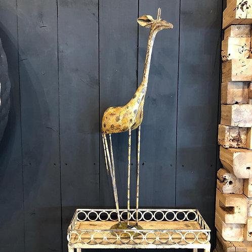 Girafe en métal grand modèle