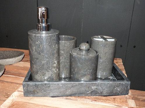 Set de salle de bain marbre