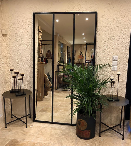 Miroir métal atelier