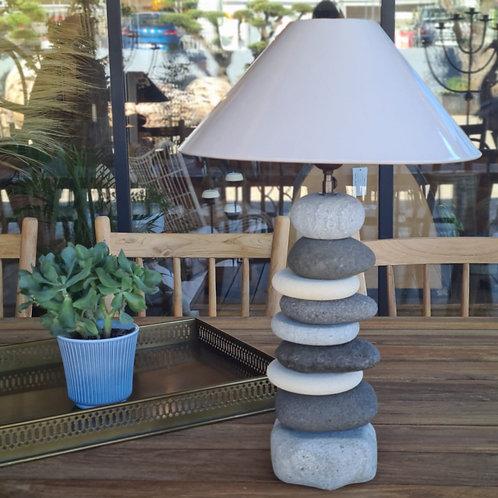 Lampe galets STONE MIX