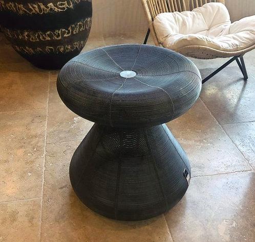Table d'appoint métal champignon
