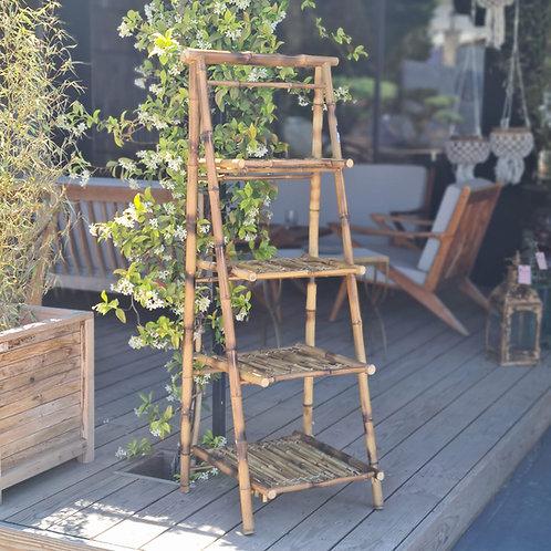 Etagère en bambou 4 niveaux