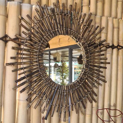 Miroir soleil BAMBOU