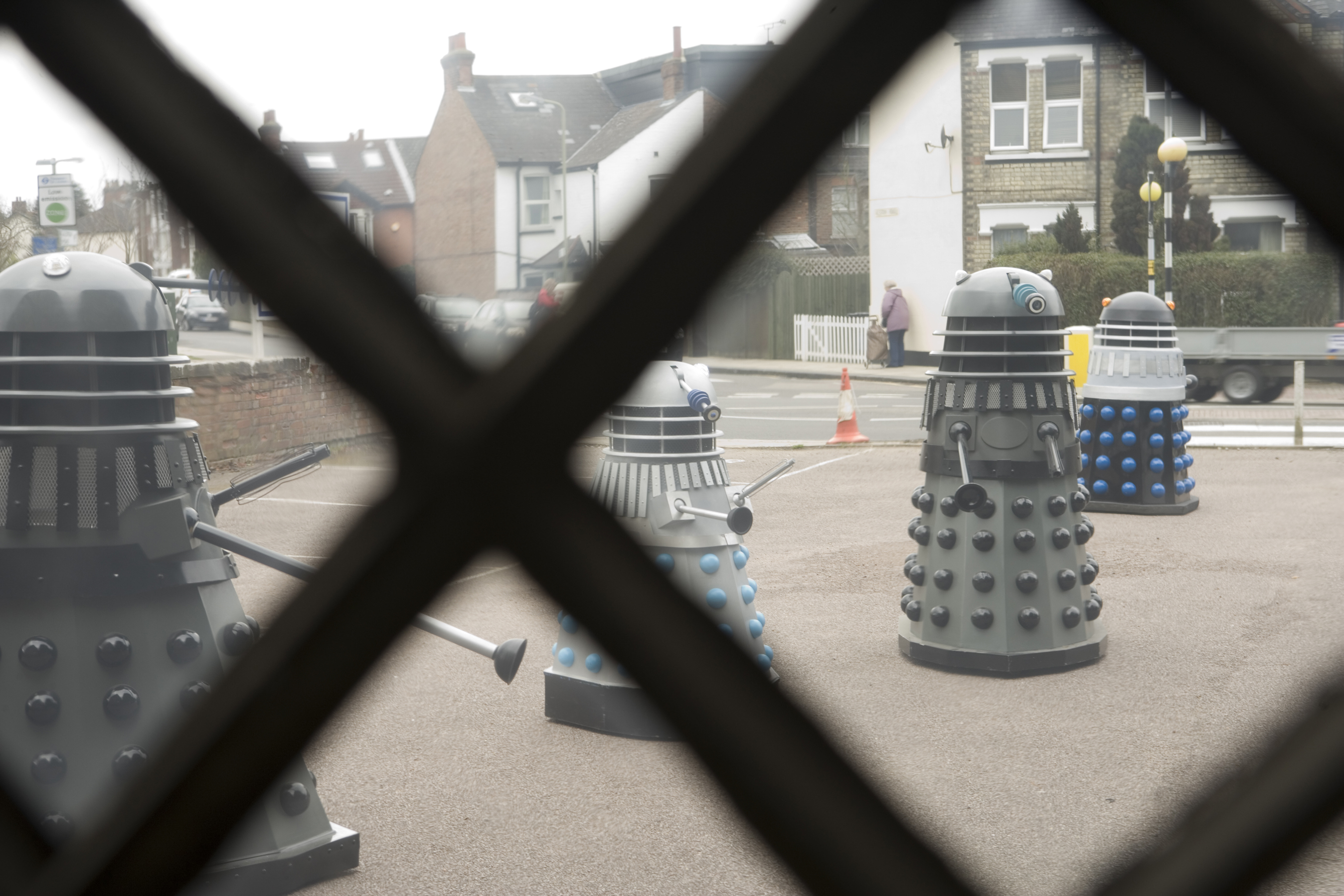 There's a dalek out there somewhere!