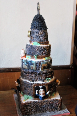The magnificent cake!