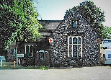 The building when it belonged to the Red Cross