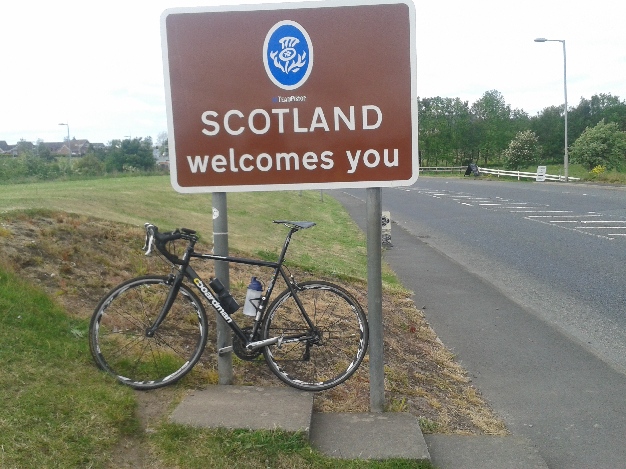 Scotland reached!