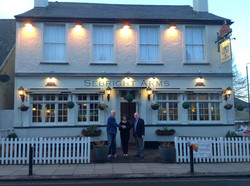 The Sebright arms - great supporters of the Open Door