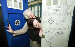 Wow - but who has been in the Tardis?