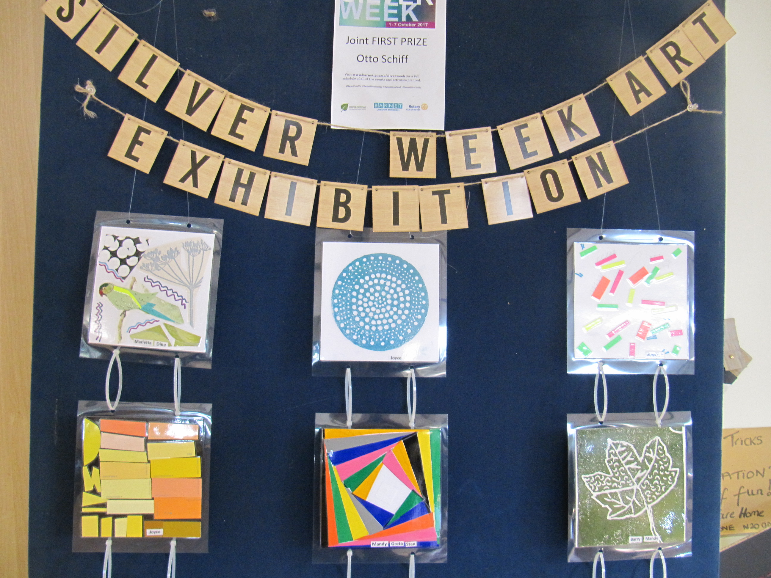 Its official! Silver Week Art Exhibition!