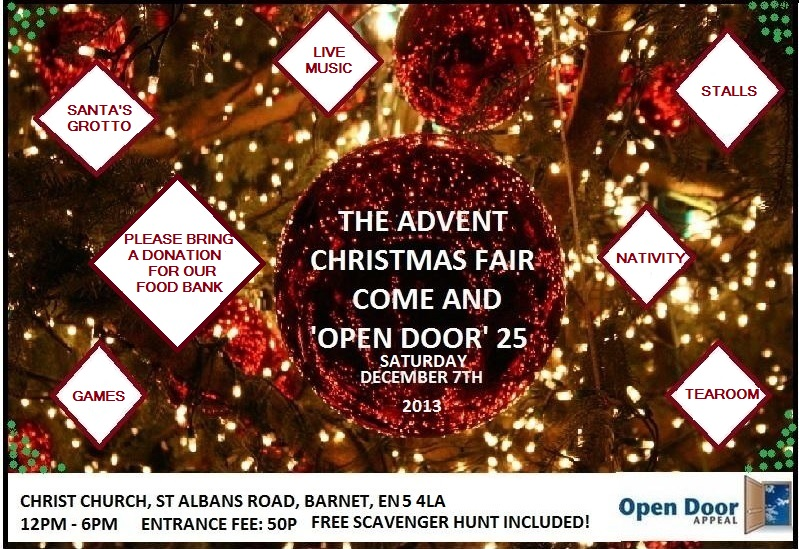 Christmas wouldn't be Christmas without a Christmas Fair!