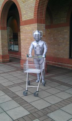 Ahh doing his shopping at Waitrose!