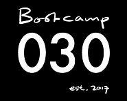 Logo Bootcamp030 zwart groot 8 staat tot