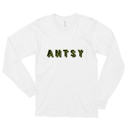 """Antsy"" Long sleeve t-shirt"
