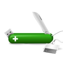 Tech Knife Green