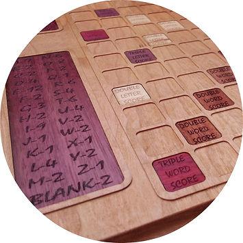 Custom Scrabble Boards