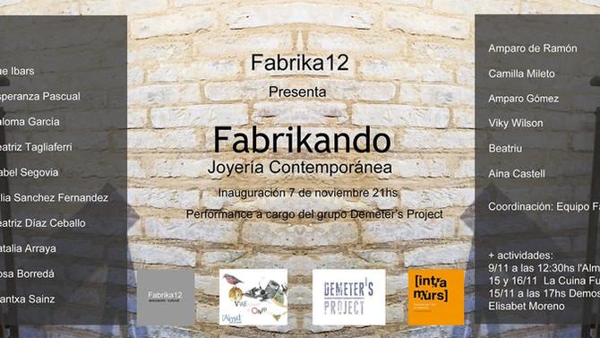 Alumnos de Fabrika12 en Intramurs