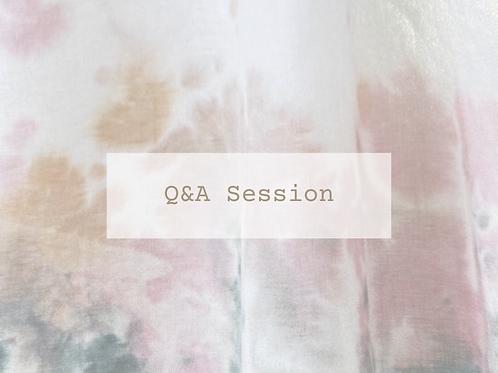 Q&A tlf. session