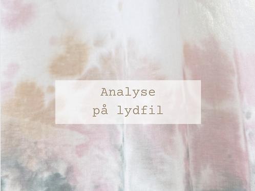 Q&A - analyse pålydfil