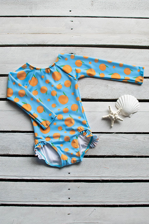 Squeeze the Day Long Sleeve Swimsuit