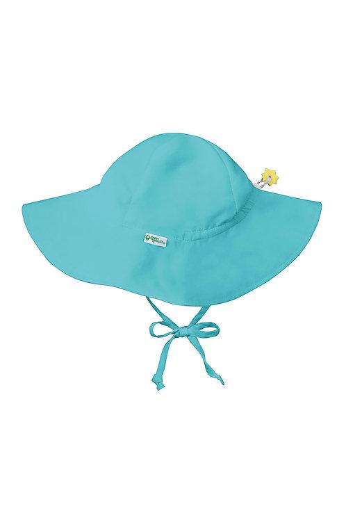 Green Sprouts Brim Sun Protection Hat Aqua