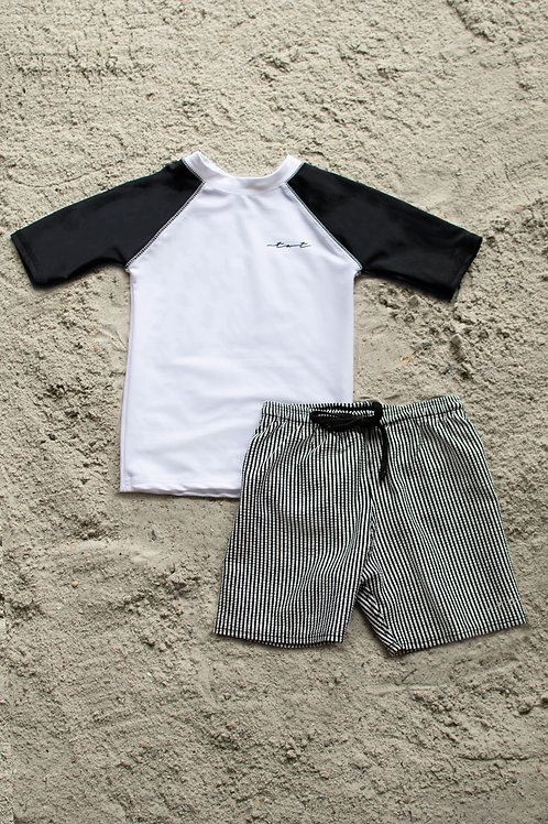Sea Explorer Boys Short Sleeve Sun Shirt and Short Set