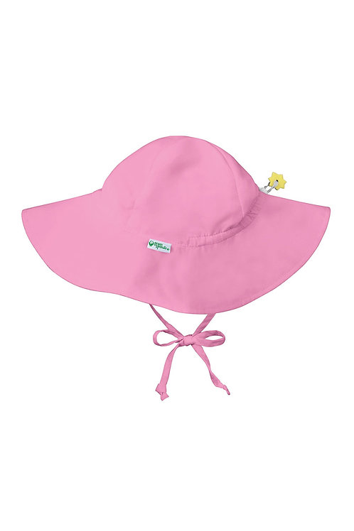 Green Sprouts Brim Sun Protection Hat Baby Pink