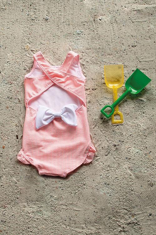 Cowabunga Babe Criss Cross Back Swimsuit