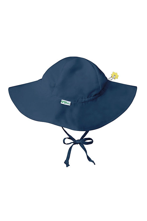 Green Sprouts Brim Sun Protection Hat Navy