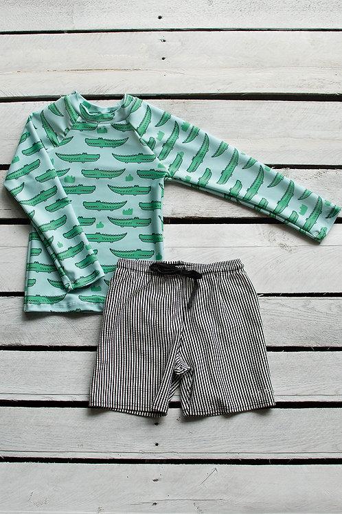 Gators Long Sleeve Sun Shirt and Short Set