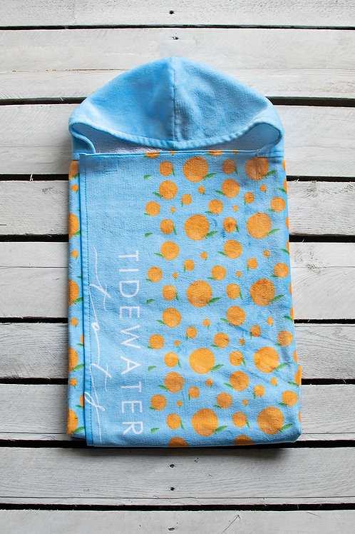 Squeeze the Day Youth Hooded Towel