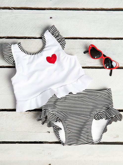 Lovely Little Ruffle Swimsuit