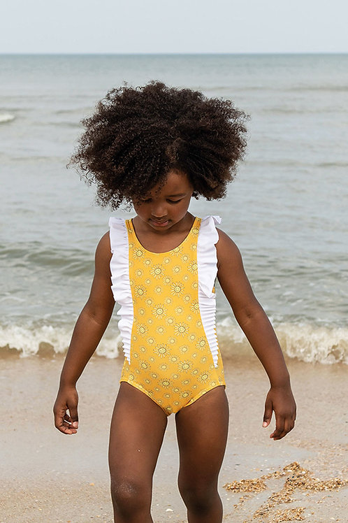 Sunkissed Ruffle Front Swimsuit