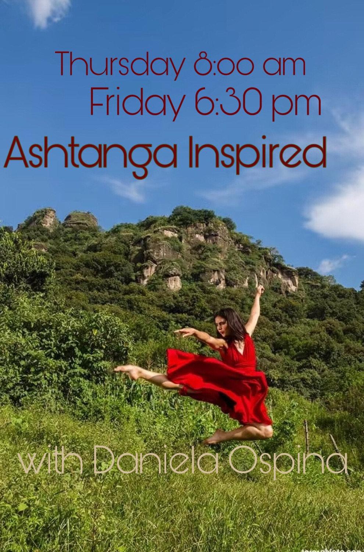 Inspiration Ashtanga con Daniela