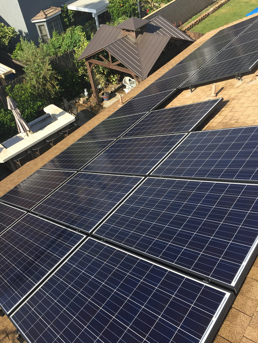 Commerical and Residentai Solar Pane Cleaning Service