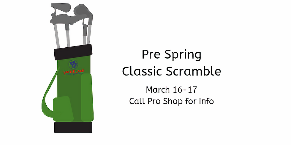 Pre Spring Classic Scramble