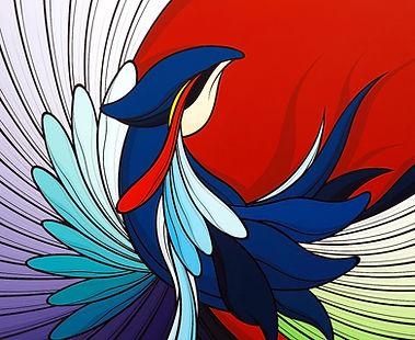 4. Ibong Adarna (Resurrection) - 100x120