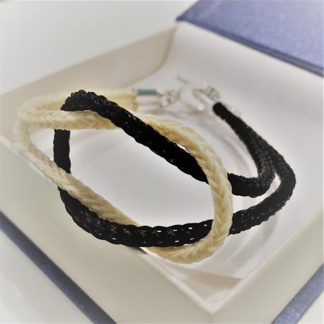 Interlocking braids