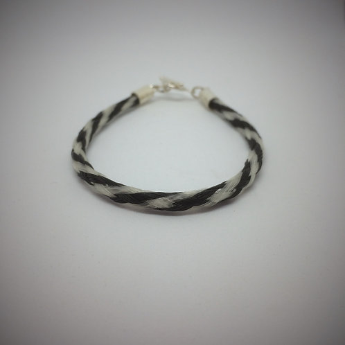Tubular braid bracelet