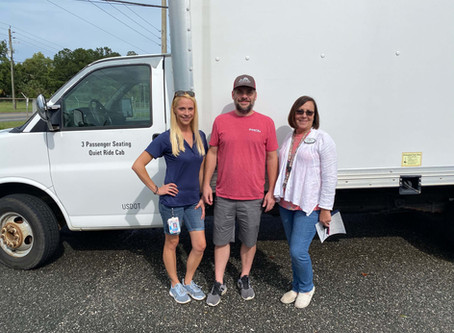 Print City Graphics Donates Box Truck to Lake City Humane