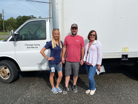 Print City Graphics Donates Box Truck to Lake City Humane