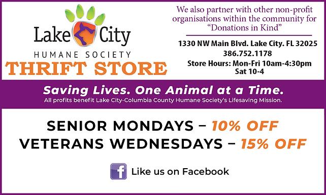 Lake City Humane Society 6-9-2021 Newspa