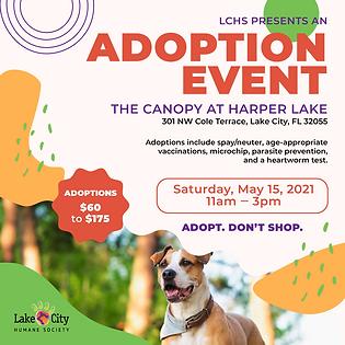 Social Post - Adoption -Event - The Cano