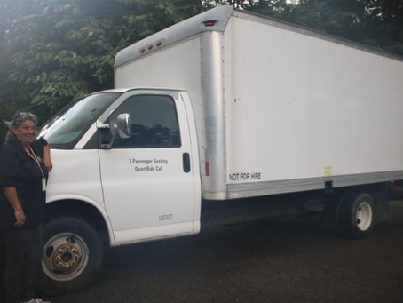Humane Society Receives Donated Box Truck