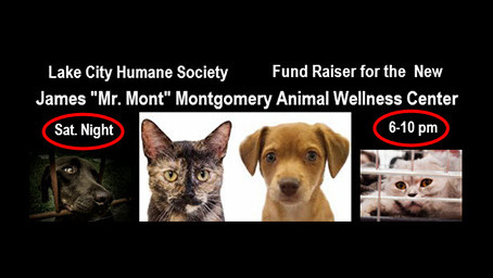 Humane Society Fundraiser for New James Montgomery Animal Wellness Center