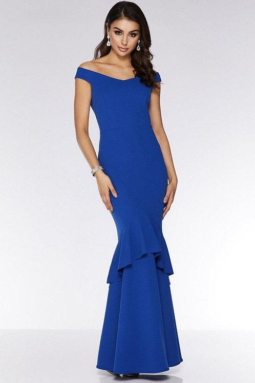 Вечернее платье королевского синего цвета