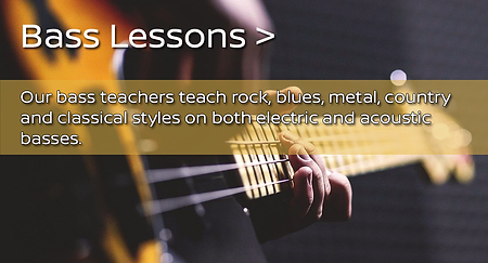 bass guitar lessons near me for kids and adults in kitchener canada
