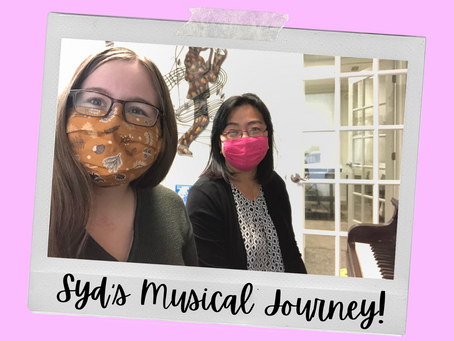 Syd's Musical Journey - Syd Learns Piano with Irene