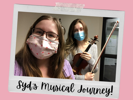 Syd's Musical Journey - Syd Learns Violin with Janine