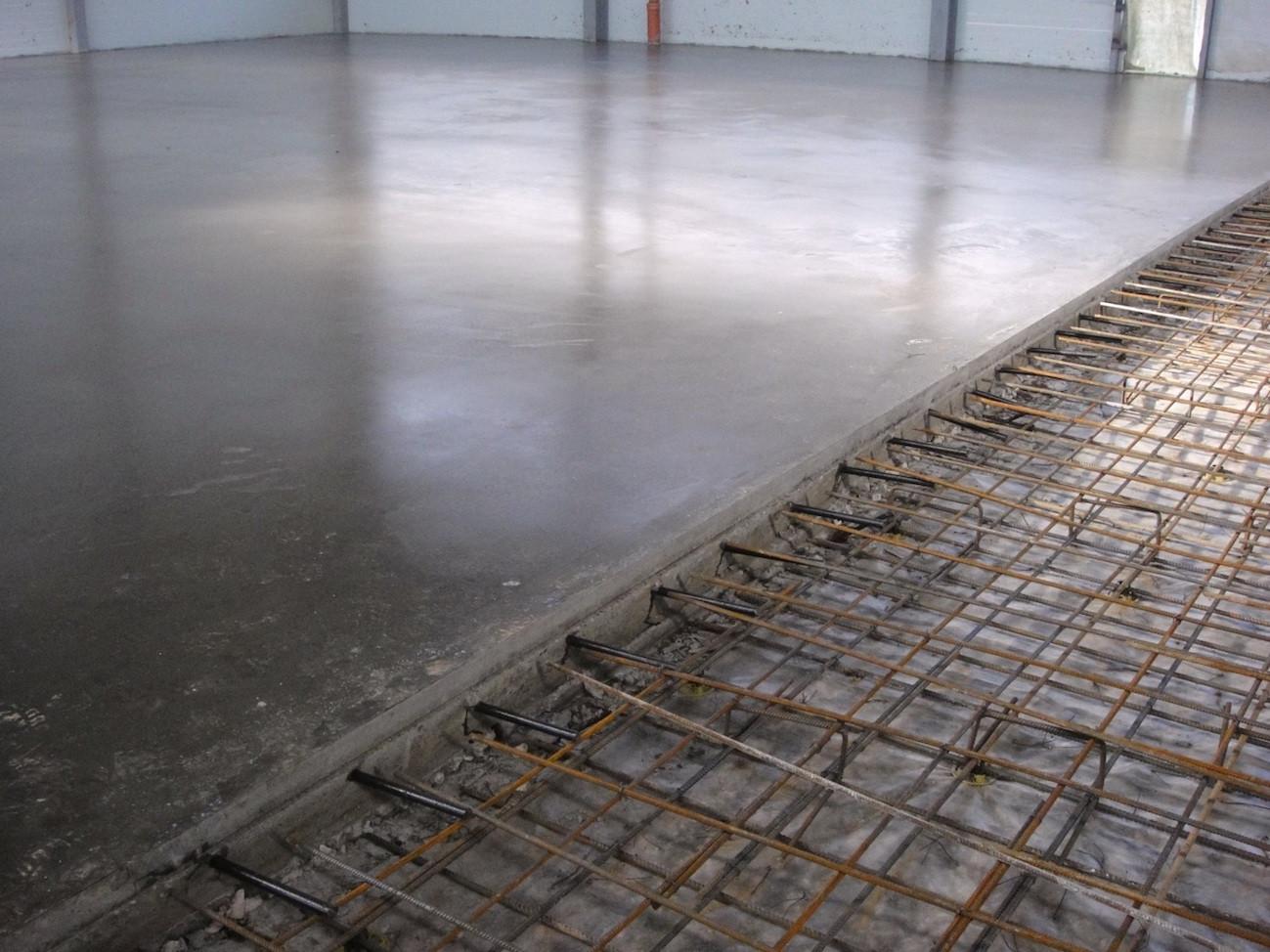 бетонная стяжка пола расценки